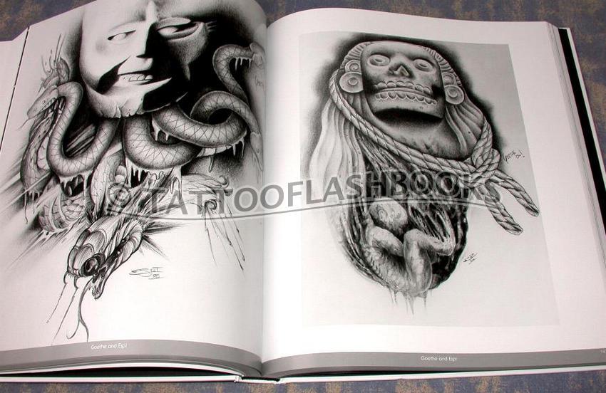 tattooflashbooks.com - Edgar Hoill - Latino Art Collection: Tattoo ...